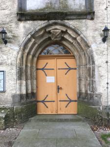 Mühlberg, Frauenkirche, Pforte
