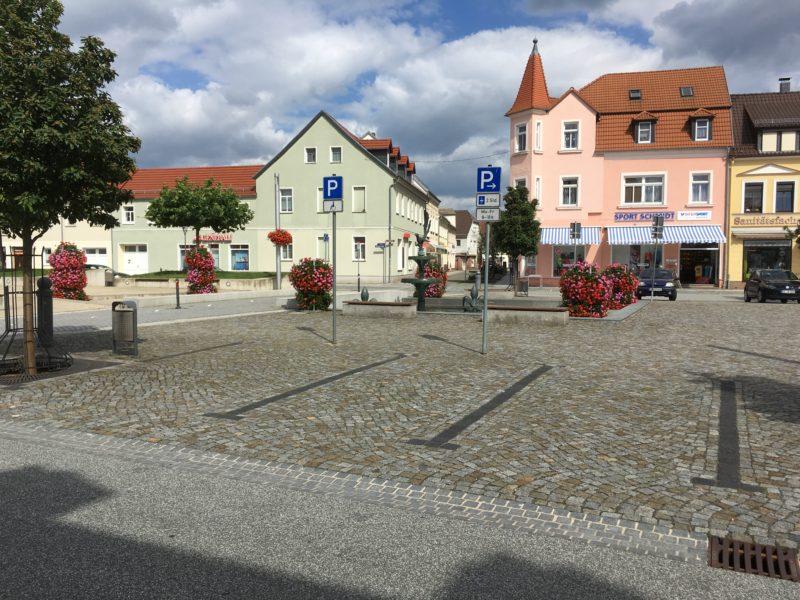 Elsterwerda, Markt