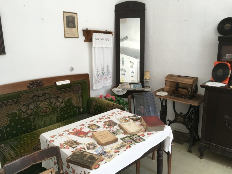 Heimatstube Gröden, Wohnzimmer