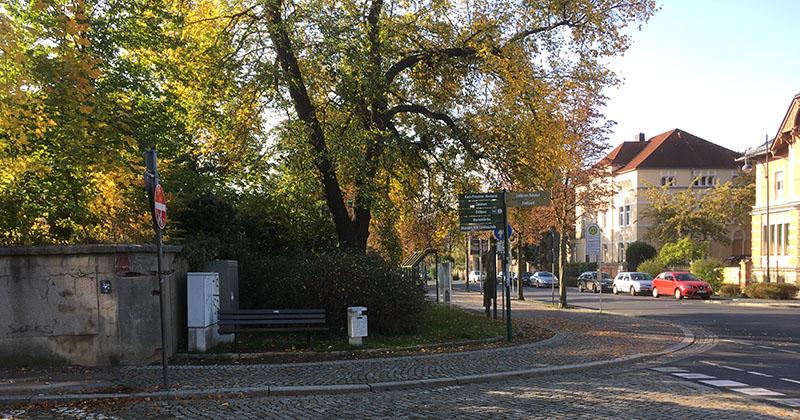 Mozart-Allee, Großenhain