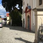 Elsterwerda, Kirche und Straße