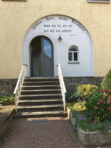 Inschrift Sende, Herr, deine Weisheit, Ponickau