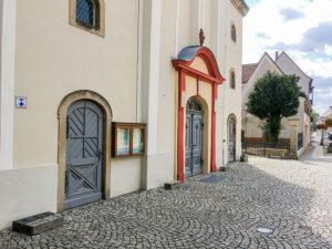 Elsterwerda, Kirchentür