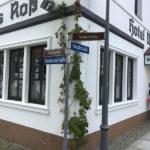 Elsterwerda, alte und neue Straßenschilder