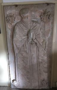 Lampertswalde, Epitaph der Demut von Miltitz