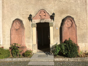 Lampertswalde, Kirche, Kriegerdenkmal