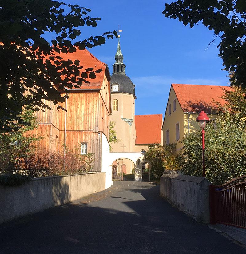 Lampertswalde, Kirche, Tor