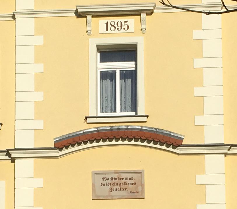 Lampertswalde, Schule, Spruch