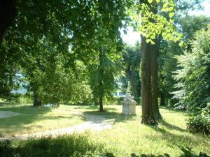 Im Schlosspark Zabeltitz
