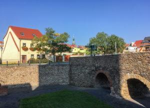 Grossenhain, Schlossgraben und Vorstadt