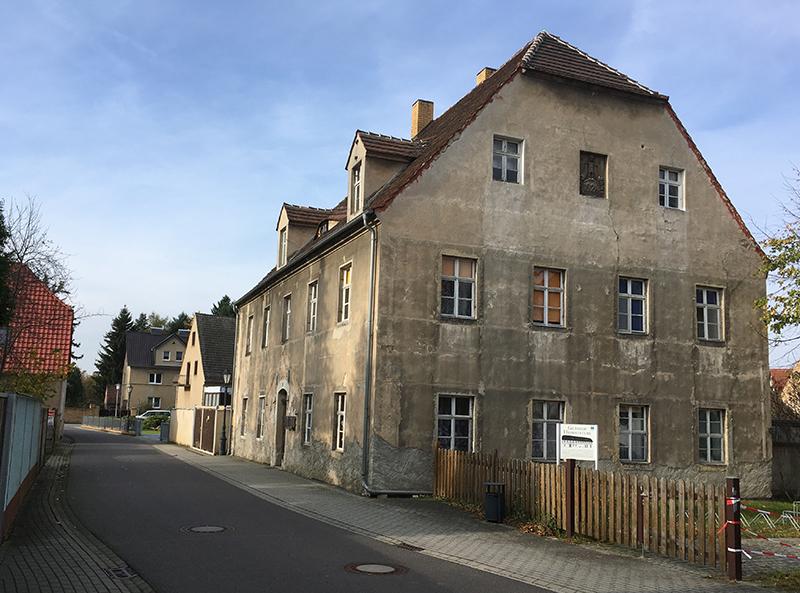 Ruhland, Haus in der Vorstadt