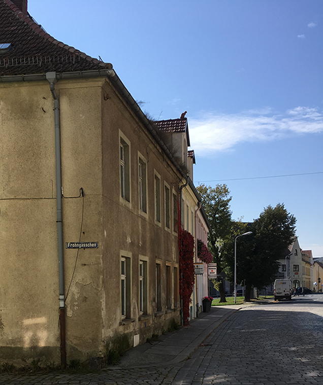Frohngässchen, Ecke Meißner Straße