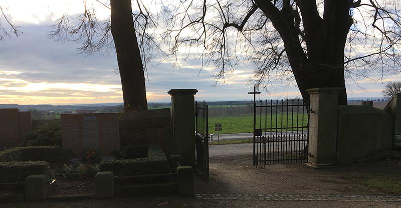 Friedhofspforte Wantewitz