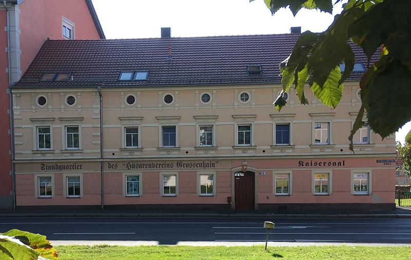 Kaisersaal, Standquartier des Husarenvereins