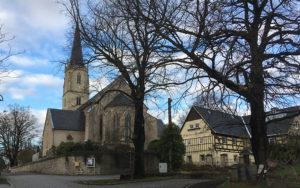 Wantewitz, Kirche und Schänke