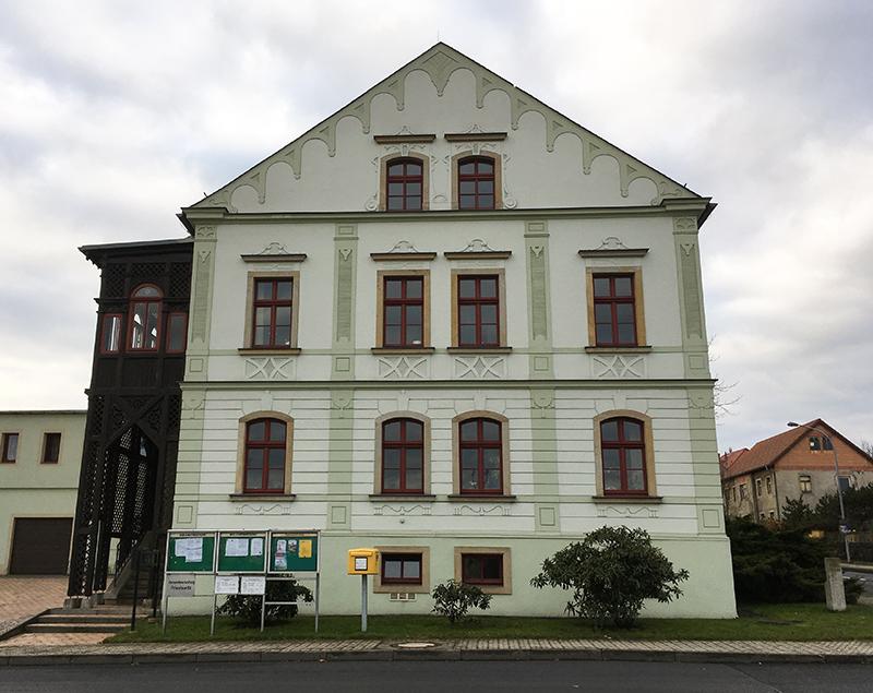 Priestewitz, Gemeindeamt