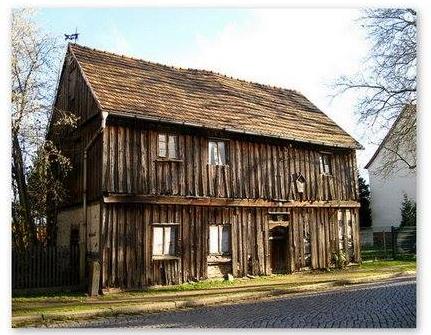 Ruhland, ältestes Haus vor Sanierung