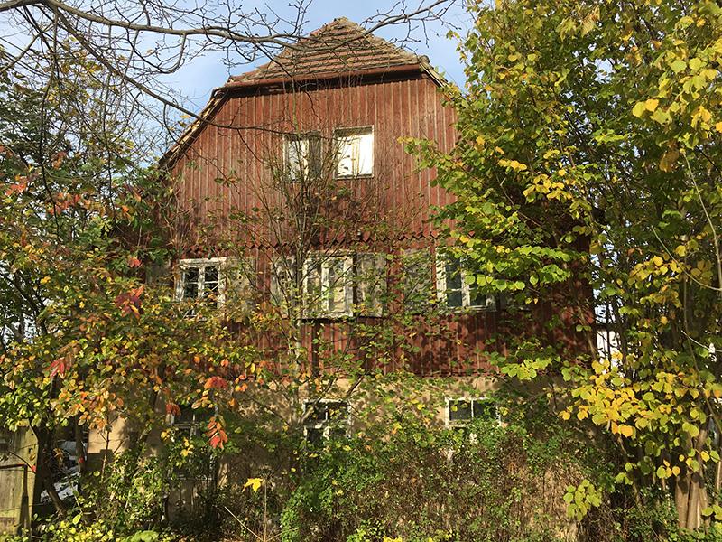 Ruhland, Holzhaus