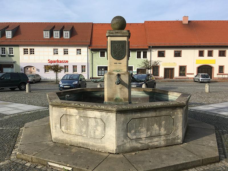 Ruhland, Marktbrunnen