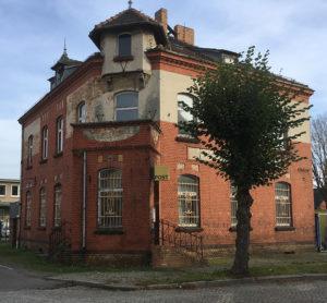 Ruhland, Alte Post, Ecke