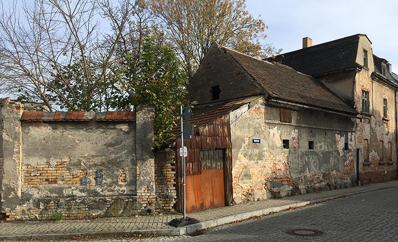 Ruhland, Ruine Wallstraße