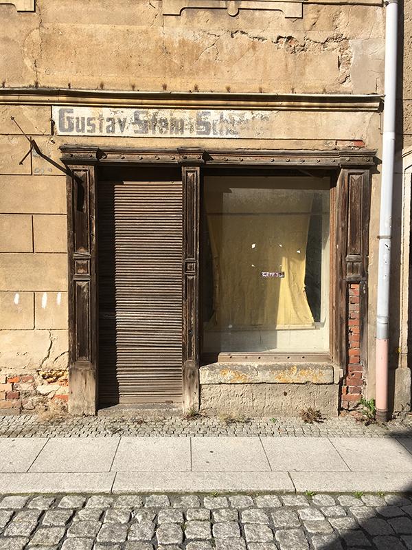 Siegelgasse, Laden von Gustav Stein