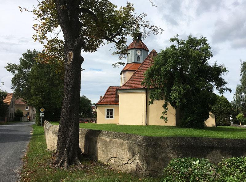 Spansberg, Kirche
