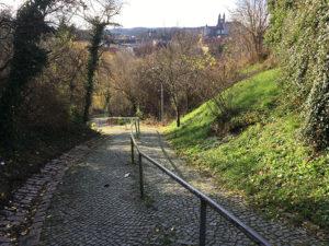 Zscheilberg mit Burgblick