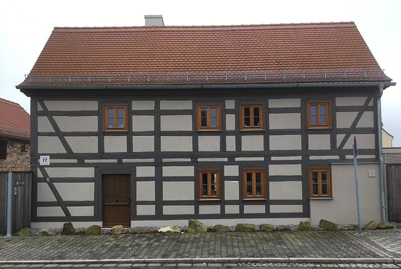 Fachwerkhaus, erbaut um 1770